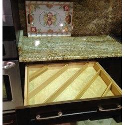 Woodsy Warm Kitchen - Linda Monier