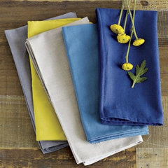 traditional table linens by West Elm