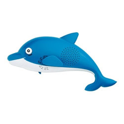 Kito - 11.5 Inch Water Resistant Dolphin Shaped Shower Radio with Stand - This gorgeous 11.5 Inch Water Resistant Dolphin Shaped Shower Radio with Stand has the finest details and highest quality you will find anywhere! 11.5 Inch Water Resistant Dolphin Shaped Shower Radio with Stand is truly remarkable.