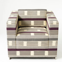 Ikat Square - Designed by Dorothy Cosonas, Ikat Square is a modern interpretation of a traditional Ikat design.