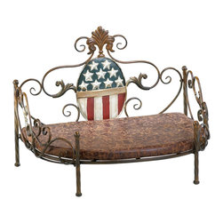Cyan Design - Cyan Design 02709 Patriotic Pet Bed - Cyan Design 02709 Patriotic Pet Bed