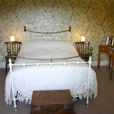 Farmhouse Bedroom by Emma Drohan Interiors
