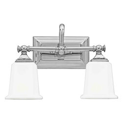 Quoizel Lighting - Quoizel NL8602 Nicholas 2 Light Vanity - 2, 100W A19 Medium