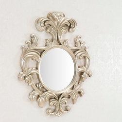 Geneve - Decorative Wall Mirror - Large Wall Mirror - Silver Finish -