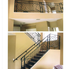 mediterranean staircase by DecoDesignCenter.com