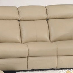 Ersilia Italian Leather Reclining Sofa - If you're looking for a sofa that offers the ultimate in comfort and quality, then look no further than the Ersilia Italian Leather Reclining Sofa. Featuring plush oversized cushioned seats, backrests, headrests, and armrests wrapped in rich 100% Italian leather.