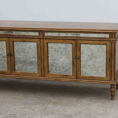 traditional buffets and sideboards by Mortise &amp; Tenon Custom Furniture Store