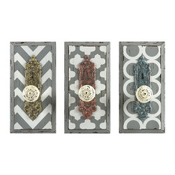 IMAX CORPORATION - Chevron Wall Hooks - Ast 3 - Chevron Wall Hooks - Ast 3. Find home furnishings, decor, and accessories from Posh Urban Furnishings. Beautiful, stylish furniture and decor that will brighten your home instantly. Shop modern, traditional, vintage, and world designs.