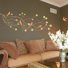 Contemporary Wall Decals by Chuck E Byrd Wall Art