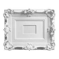 "Areaware - My Brother's Frame White - Harry Allen - The designer, so smitten by this frame found in his brother's closet, cast it in resin for everyone to enjoy. The image size in the middle of the frame is for a 4"" x 6"" photo."