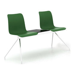 B&T Design - Leo Bench Double, Green Shell, Double Seater - Leo Bench