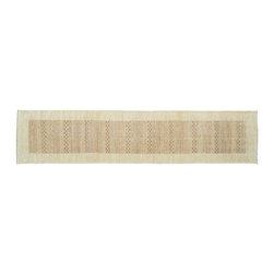 1800-Get-A-Rug - Raised Modern Gabbeh Runner Hand Knotted Rug Sh9421 - About Modern & Contemporary