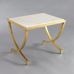 Haviland Table - This table is a simple yet beautiful example of understated glamour. I love this piece.