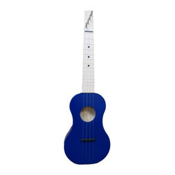 Zither Heaven - Zither Heaven Blue Ukulele - UKR15-BL - Shop for Toy Instruments from Hayneedle.com! Both fun to play and fun to say the Zither Heaven Blue Ukulele is an ideal instrument to get your child interested in learning to play. Made in the United States with solid maple hardwood this ukulele features a 15-inch vibrating string length. The precise action and placement of the bridge allows chords to be played at the bottom and top of the neck without losing sound quality. Nylon frets and strings produce great sound and Zither pins are used for tuning. A song booklet is also included to get your child started. About Zither HeavenZither Heaven is dedicated to producing high quality musical instruments in the United States using sustainable native North American hardwoods along with other components that are made in the USA. Their commitment to quality and precision produces great-sounding musical instruments for both children and adults. Since Zither is involved in the production of their products at every stage and by producing locally they are able to guarantee satisfaction with their products.