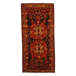 eSaleRugs - 4' 11 x 10' 9 Tribal Bakhtiar Persian Runner Rug - SKU: 110897867 - Hand Knotted Tribal Bakhtiar rug. Made of 100% Wool. 30-35 Years.