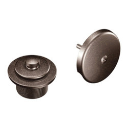Moen - Moen T90331ORB Tub and Shower Drain Cover in Oil Rubbed Bronze - Moen T90331ORB Tub and Shower Drain Cover in Oil Rubbed BronzeMoen is dedicated to designing and delivering beautiful products that last a lifetime. Moen offers a diverse selection of kitchen faucets, kitchen sinks, bathroom faucets and accessories, and showering products. Moen products combine style and functionality with durability for a lifetime of customer satisfaction.Moen T90331ORB Tub and Shower Drain Cover in Oil Rubbed Bronze, Features: