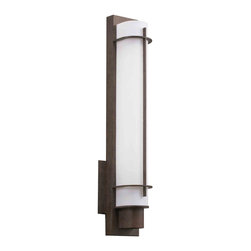 Kichler Lighting - Kichler Lighting 10448OZ Visalia Olde Bronze Wall Sconce - 1, 24W Twin-Tube Fluorescent