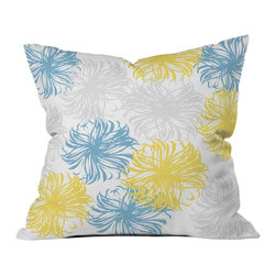 DENY Designs - Vy La Cool Breezy Dandies Throw Pillow - Wanna transform a serious room into a fun, inviting space? Looking to complete a room full of solids with a unique print? Need to add a pop of color to your dull, lackluster space? Accomplish all of the above with one simple, yet powerful home accessory we like to call the DENY throw pillow collection! Custom printed in the USA for every order.