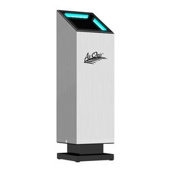 Air Oasis - 1000 G3 Residential Air Sanifier Purifier - Quickly and effectively reduces carbon-based contaminants, providing fresh, clean smelling air in only minutes. Eliminates odors left behind from cigarette smoke. Cleans up to 1000 sq. ft. area. Uses AHPCO (advanced hydration photo catalytic oxidation) technology developed by NASA. Watts: 15. Warranty: Three years limited. Made in USAAir purifiers have a fundamental flaw. They rely on air being pulled through the unit in order to clean it. This creates an ineffective, high energy cost air purifier. The Air Oasis AO1000 air purifiers utilize a new generation of technology. This technology does not reply on filters or air passing through the air purifier. This new technology simply produces a blanket of redundant oxidizers that not only clean your air, but sanitize surfaces as well.
