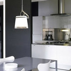 Glass Glass Pendant Lamp By Luceplan Lighting - Glass Glass from Luceplan are diffuser bodies in blown glass with plain and classic forms.