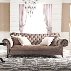 Estacado Tufted Sofa Velvet -