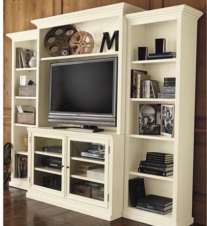 Transitional Media Storage by Ballard Designs