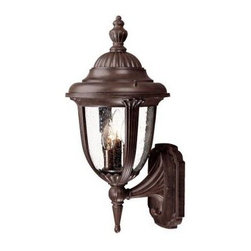 Acclaim Lighting - Outdoor Lighting. Monterey Collection Wall-Mount 3-Light Outdoor Burled Walnut L - Shop for Lighting & Fans at The Home Depot. The Monterey collection 3-light wall lantern is made of durable cast aluminum. The globe is clear seeded glass. This lantern design will compliment many different architectural styles.