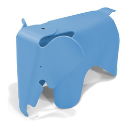 Zuo - Elephant Chair, Blue - Put the fun back in functional!  The Elephant chair is is made out of durable, scratch-free polypropylene and is perfect for any kid-friendly space.  This fun kid-proof seating is available in many colors.