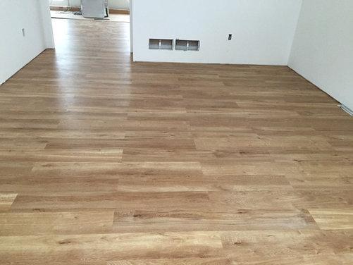 Laying Vinyl Tile Flooring : took some liberties on layout of Karndean French Oak 48