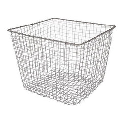 Design Ideas - Cabo Storage Nest Basket - Large - With a hand-woven rustic charm, our Cabo baskets are likely the coolest storage baskets you'll come across. The small basket is perfect for incoming and outgoing mail. The medium can hold towels or books. The large can be used for storing magazines and newspapers.