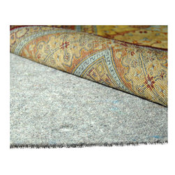 Safavieh - Padding Assorted Area Rug PAD130 - 5' x 8' - Dura Pad features a needle-punching fabric with textured waffle-backing for improved gripping power on hard surface floors and carpets. It provides the ultimate in cushioning and insulation for fine rugs. Dura Pad is also designed for use under rugs of any kind and helps prevent premature wear.