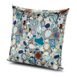 Missoni Home - Missoni Home | Perpignan Pillow 24x24 - Design by Rosita Missoni.