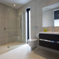 Contemporary Bathroom by Heritage Tiles NZ
