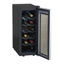 Avanti - 12-Bottle Thermoelectric Wine Cooler - -Stores up to 12 wine bottles