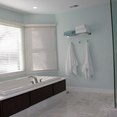 Contemporary Bathroom by Laura Rodman Designs