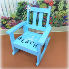 Tropical Rocking Chairs by Lisa's Creative Designs