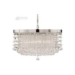 Uttermost Fascination Contemporary 3-Light Chandelier - UM-21138 - Uttermost Fascination Contemporary 3-Light Chandelier - UM-21138
