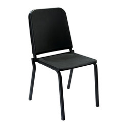 National Public Seating - National Public Seating 8200 Series Plastic on Textured Black Frame Melody Chair - The new Melody stacking chair features the look and feel that most music departments have come to expect. To meet the unique demands of the musical performance environment, the chair is designed band-pitched style with a seat to back angle of 97 degrees allowing for maximum breathing capacity. It is also ideal for any activity that requires your back to be in a more upright position. The frame is built with strong 7/8 Inch 16 gauge square tubing, matched to a seat and back made of durable polypropylene. The chair will provide years of use while giving the necessary support and comfort for playing your favorite instrument.