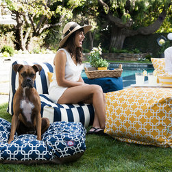 Majestic Home Goods outdoor bean bag furniture -