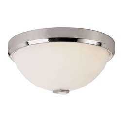 Trans Globe Lighting - Trans Globe Lighting 10112 PC Flushmount In Polished Chrome - Part Number: 10112 PC