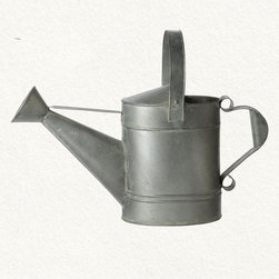 Wide Spout Watering Can - Why not add the unexpected to the center of a table? Of course, once it's off the table it's also the perfect garden accessory.