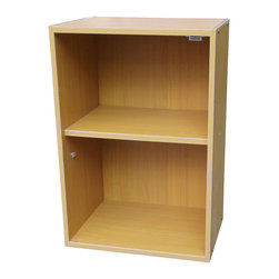 ORE International - Adjustable Book Shelf - Two shelves. Uniquely designed scratch-resistant surface. Easy to clean. Warranty: 30 days. Made from wood. Beige finish. Assembly required. 16.5 in. W x 12 in. D x 23.5 in. H (17 lbs.)This book case will not only help you organize your books and magazine but will also increase storage space for you.