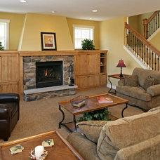 Craftsman Family Room by Copper Creek, LLC