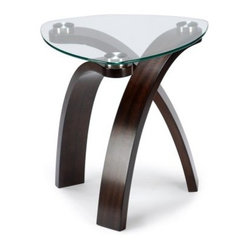 Magnussen T1396-22 Element Oval End Table