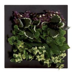 Benzara - Contemporary Inspired Style Polyethylene Floral Wall Home Decor 64061 - Description: