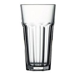 Hospitality Glass - 5.75H X 3.25T X 2.25B Casablanca 12 oz Cooler Glasses 48 Ct - Casablanca 12 oz Cooler