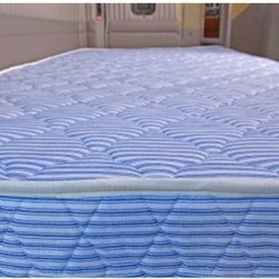 InnerSpace 5.5 in. Truck Relax Mattress - Quilted One Side - Get a solid night's sleep with the InnerSpace 5.5 in. Truck Relax Mattress - Quilted One Sides in your truck. This mattress is made of 5.5-inch thick polyurethane foam and is quilted for comfort. It comes in a wide variety of size options to make it easy to find the right fit. This mattress is firm and specially designed to bring relief to road-weary muscles and joints. It gives you the comfort and support of a consistent, full night's rest and is hypo-allergenic. May be used with height-adjustable bed frames, platform beds, or slatted frames. This InnerSpace mattress comes compression rolled to be easier to maneuver it through tight spaces and into your cabin. Simply move the mattress into position, remove the cover, and it will expand to its full and permanent size within 48 hours. This mattress features a built-in FlameWatch fire retardant and passes MVSS-302 requirements. Proudly made in USA.Sound Sleep GuaranteeOur Sound Sleep Guarantee lets you try out your new mattress and make sure you found the perfect one. Give your new mattress a try for 21 days that's about how long a new mattress takes to conform to your body and for you to get used to it. If after the first 21 days and up to the first 100 days after delivery you decide the mattress isn't for you, call us at 866-530-4157 and we'll come pick up the old one and exchange it for a different mattress for you. Here are the details:The Sound Sleep Guarantee applies only to the following brands: Laura Ashley, iMattress, King Koil, Sealy, Serta, Simmons, and Stearns & Foster. All other mattress brands cannot be returned.Pick-up and exchange is one time only per customer.A processing-and-pick-up fee of $99 is required.If you choose a new mattress with a higher price than the one we're picking up, you'll need to pay the difference.We are unable to accept returns or cancellations; only exchanges.Valid only within the 48 contiguous United States.