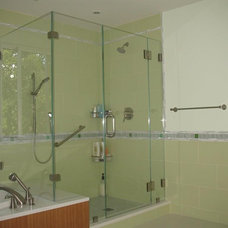 Traditional Showers by ATM Mirror and Glass