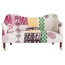 Eclectic Loveseats by John Robshaw Textiles
