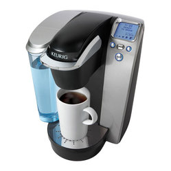 Keurig K75 Platinum Edition Single Serve Coffee Maker Kit, Platinum